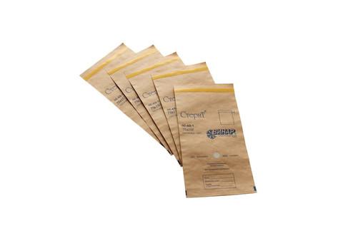 Крафт-пакеты для стерилизации (коричневые), р. 75*150.  Уп. 100 шт