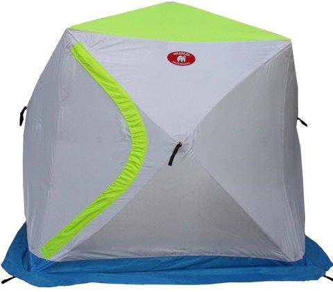 Палатка для зимней рыбалки Медведь Куб 2 трехслойная