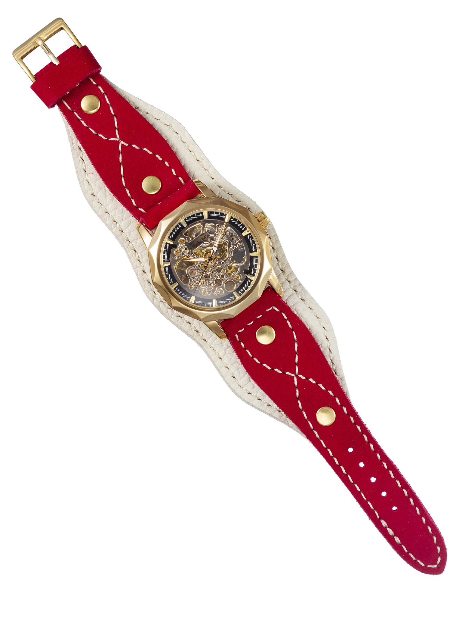 Часы скелетоны женские механические Sense YOURTIME