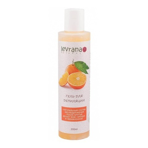 Levrana гель для эпиляции сладкий апельсин 200 мл