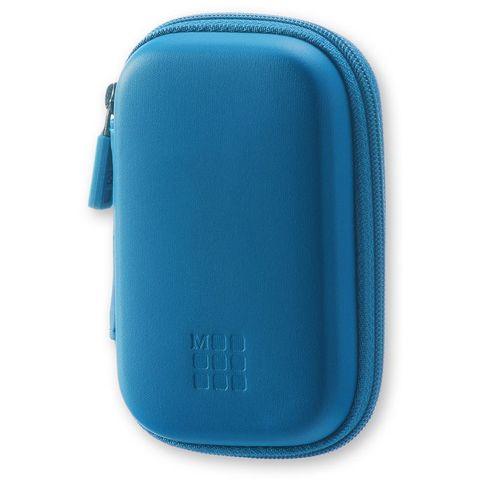 Чехол для путешествий Moleskine Journey Pouch XS 70х110x30мм (в компл.:ремешок на запястье) синий блистер