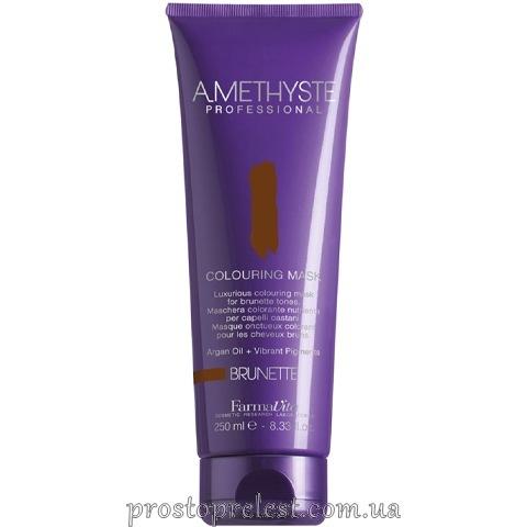 Farmavita Amethyste Colouring Mask Brunette - Тонуюча маска для волосся