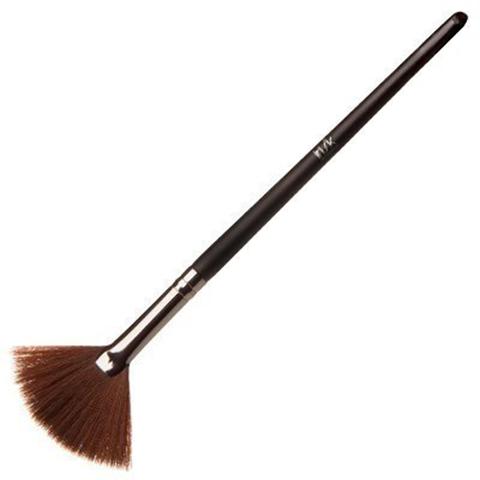 Кисть макияжная для сухих текстур веерная Excellence В518-01