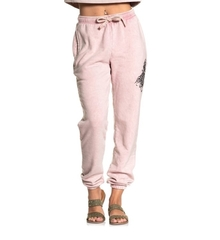Брюки Affliction AUDRALYN SWEATPANT STRAWBERRY