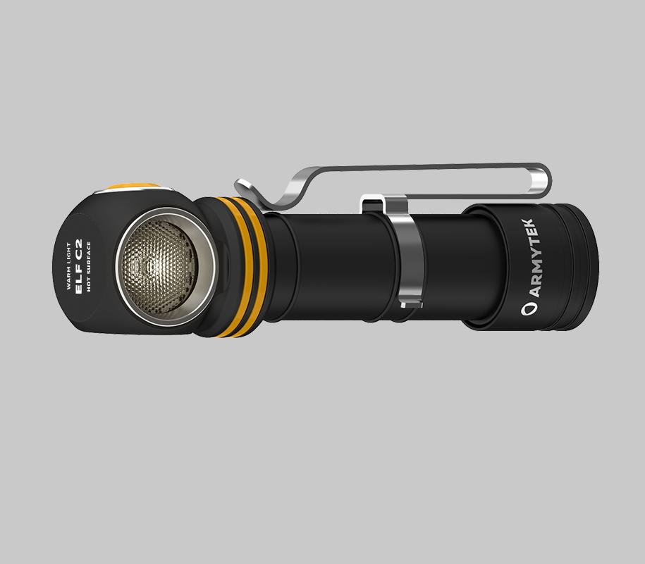 Мультифонарь Armytek Elf C2 Micro USB (теплый свет) - фото 3