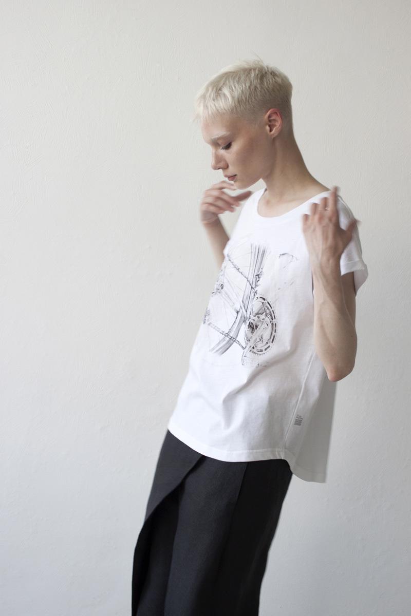 Женская футболка «Велосипед»