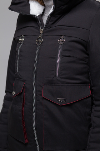 Куртка утепленная эко мехом розница
