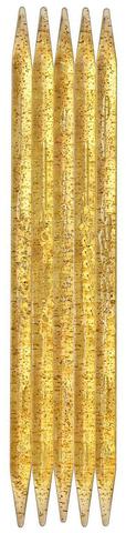 Спицы для вязания Addi чулочные, пластиковые, 25 см, 9 мм