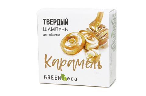"Шампунь твердый ""Карамель"" | 55 гр | Green Era"