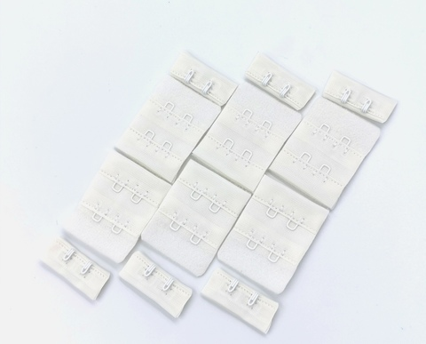 Застежка 2х2, молоко, 3,2 см (Арт:  Z2-004)