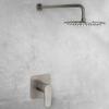 Встраиваемый смеситель для душа с душевым комплектом ALEXIA K3618012NC никель, на 1 выход - фото №2