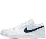 Кроссовки Nike Air Jordan 1 Low White Obsidian