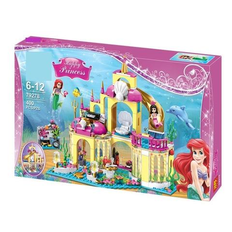 Конструктор Happy Princess 79278 Подводный дворец Ариэль