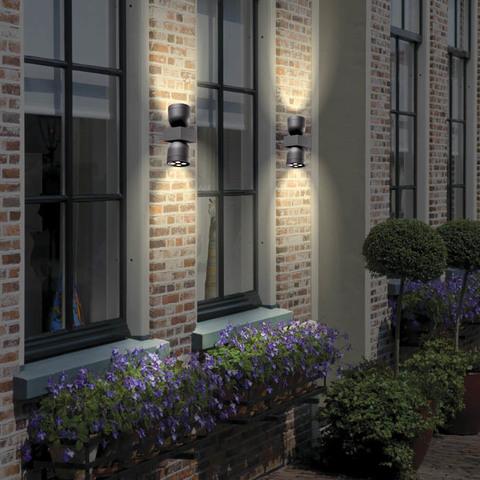 Уличный настенный светодиодный светильник 358114 серии GALEATI