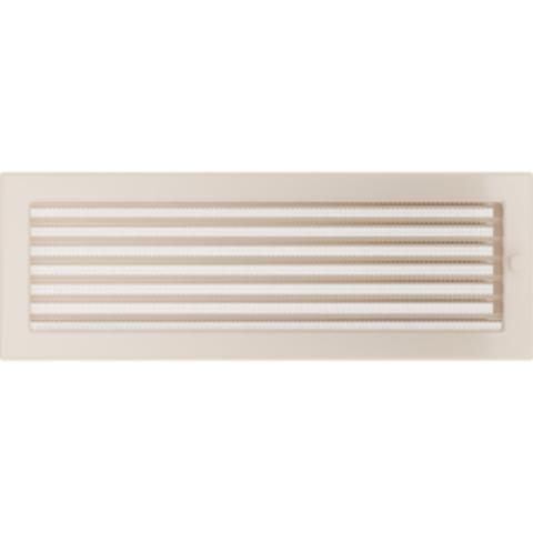 Вентиляционная решетка Кремовая с задвижкой (17*49) 49KX
