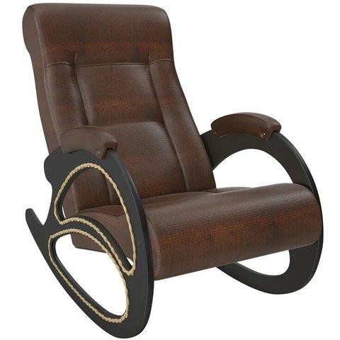 Кресло-качалка Комфорт Модель 4 венге/Antik Crocodile