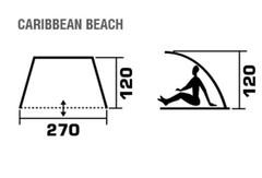 Тент-укрытие пляжный Jungle Camp Caribbean Beach - 2