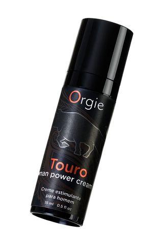 Возбуждающий крем для мужчин ORGIE Touro - 15 мл.