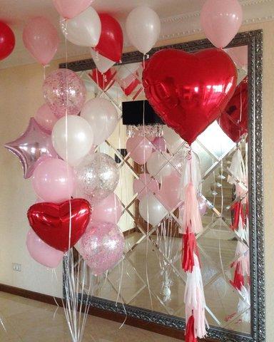 Сет воздушных шаров Романтика