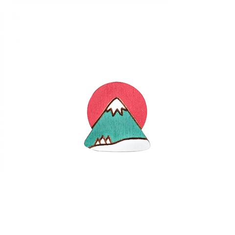 Пин Закат на Фудзияме