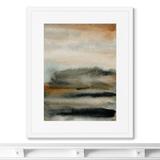 Marina Sturm - Репродукция картины в раме Early November sky