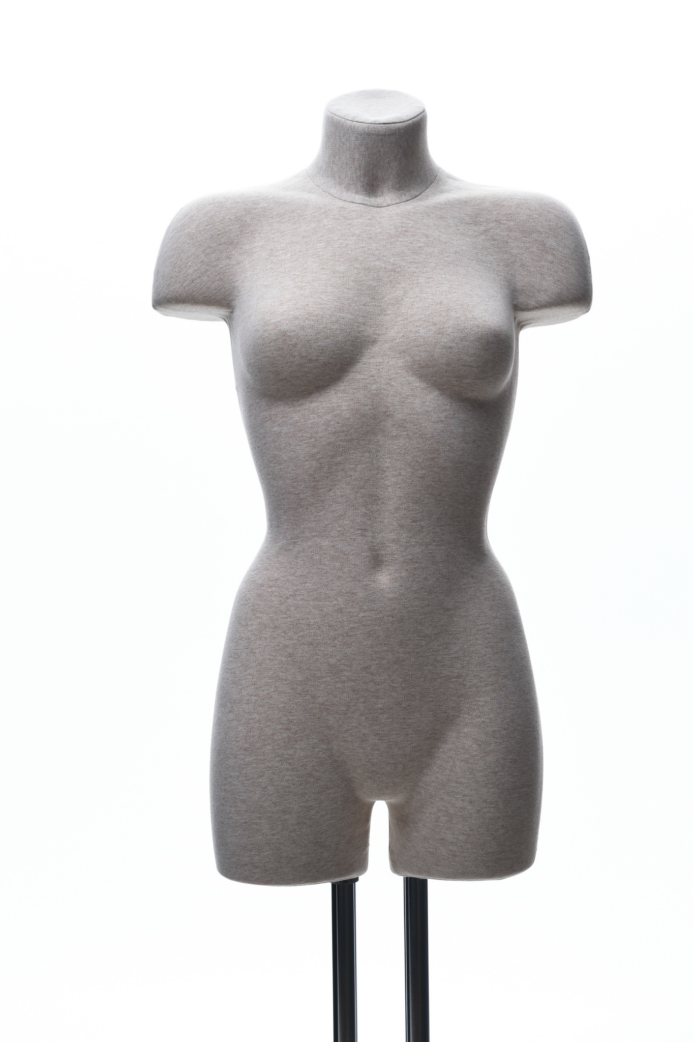 Демонстрационный женский манекен с выраженным рельефом 42-44 размер (телесный)