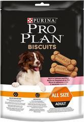Лакомство для собак, Purina Pro Plan Dog Biscuits, с лососем и рисом