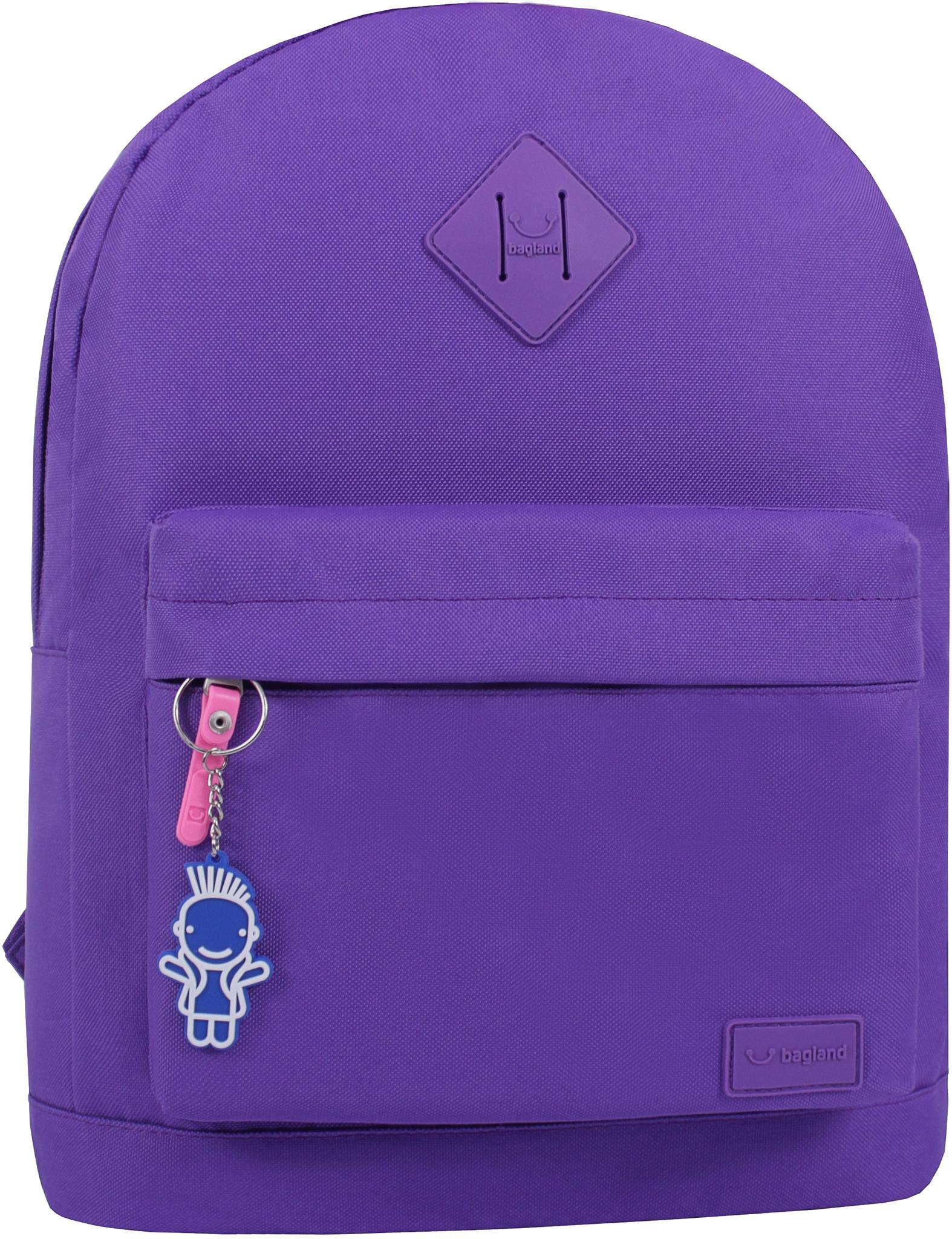 Городские рюкзаки Рюкзак Bagland Молодежный W/R 17 л. фиолетовый 339 (00533662) IMG_0782.JPG