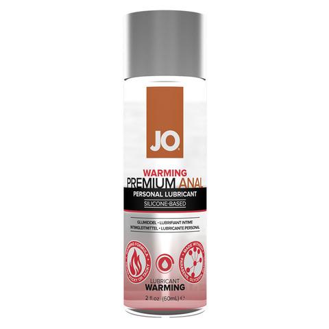 JO Anal Premium Warming, 60 ml Анальный возбуждающий лубрикант на силиконовой основе