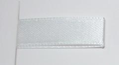 Лента атласная, Белый , 7 мм* 22,85 м.
