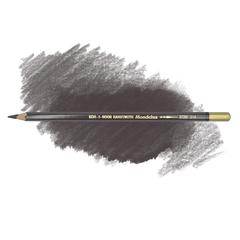 Карандаш художественный акварельный MONDELUZ, цвет 214 земля коричневый темный