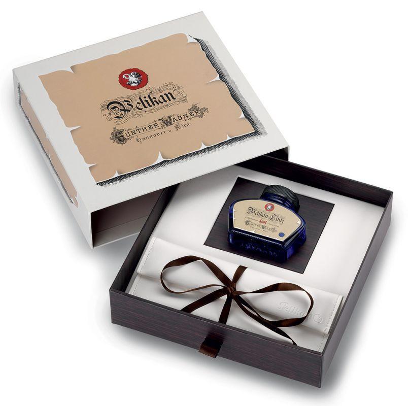 Подарочный набор - Pelikan, перьевая ручка + флакон чернил