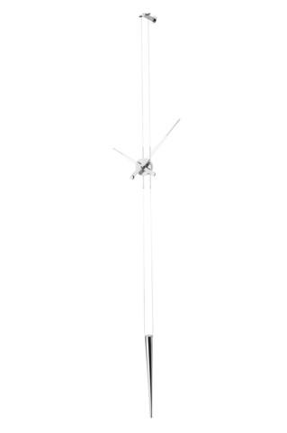 Настенные часы Pendulo i хромированная сталь