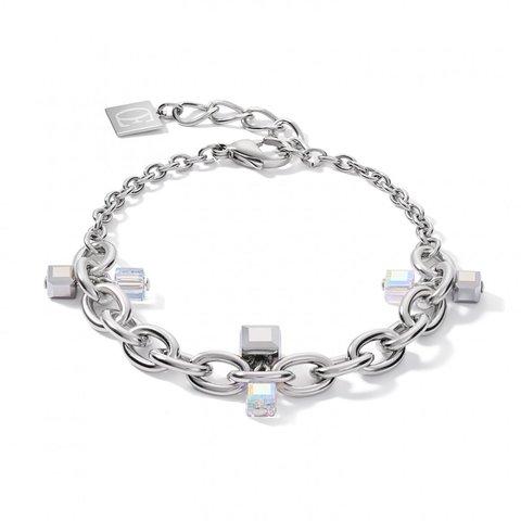 Браслет Crystal-Silver 5063/30-1817 цвет прозрачный, серебряный