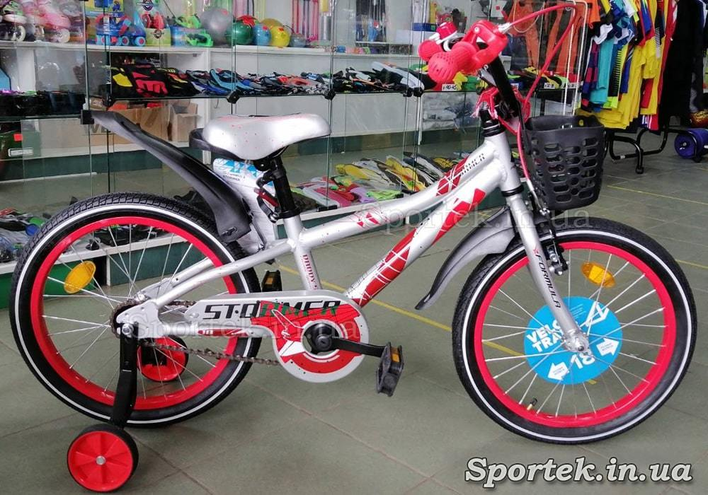 Дитячий велосипед Formula STORMER 2021 колеса 18