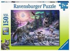 Puzzle Northern Wolves 150 pcs