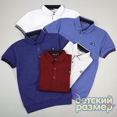 Рубашка-поло (кулирка, нашивка)