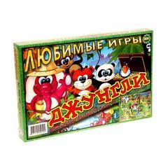 """Настольная игра """"Джунгли"""""""