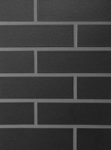 ABC - Schwarz matt, 240х71х10, NF - Клинкерная плитка для фасада и внутренней отделки