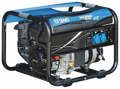Кожух для бензинового генератора SDMO Technic 4500 AVR UK (3600 Вт)