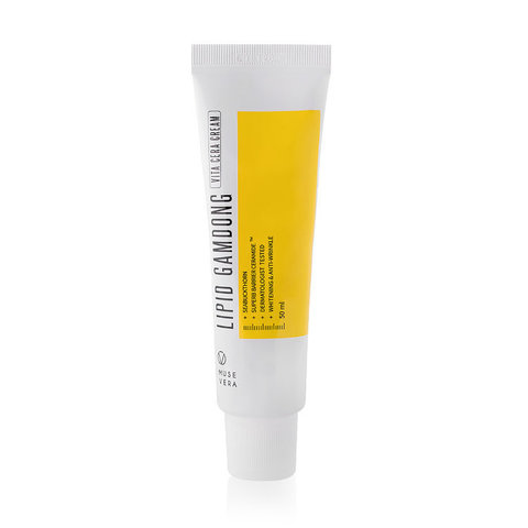 DEOPROCE MUSEVERA L Осветляющий крем на основе натуральных экстрактов  MUSEVERA Lipid Gamdong Zinc Vita Cream 50мл