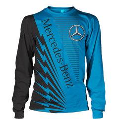 Толстовка 3D принт, Mercedes-Benz (3Д Свитшот Мерседес-Бенц) 03