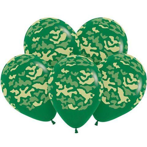 S 12 Камуфляж, Темно-Зеленый Пастель, 5 ст.