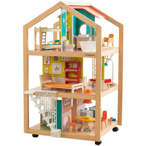 KidKraft Ассембли - кукольный домик с мебелью 65199_KE