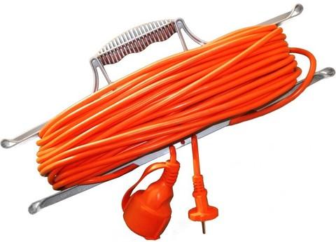 Удлинитель н/рамке УС-1-25 ПВС 2*0,75 Калибр в интернет-магазине ЯрТехника