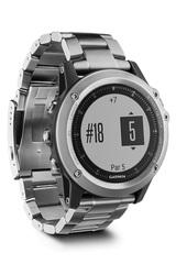 Garmin Fenix 3 HR серебряный с титановым браслетом
