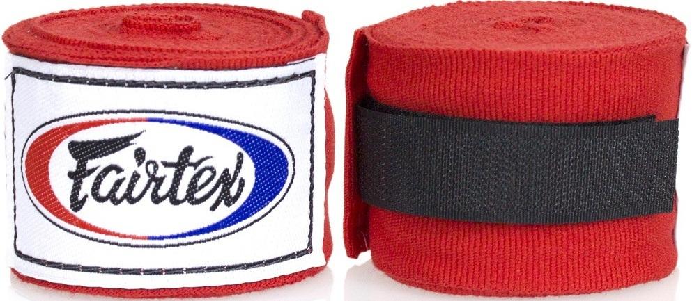 Капы и бинты Бинты Fairtex Handwrap HW2 Red 3м 1.jpg