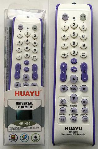 Универсальный пульт N-99 2*ААА а/и 1510-112