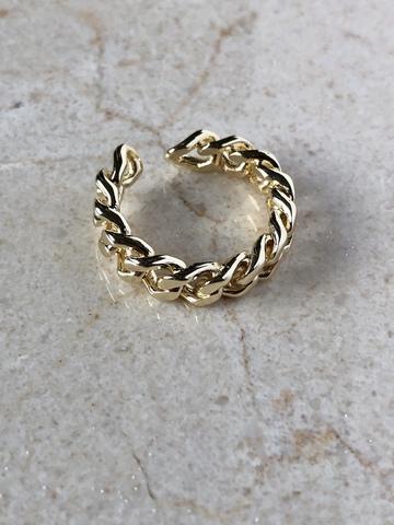 Кольцо Квитанта, позолота