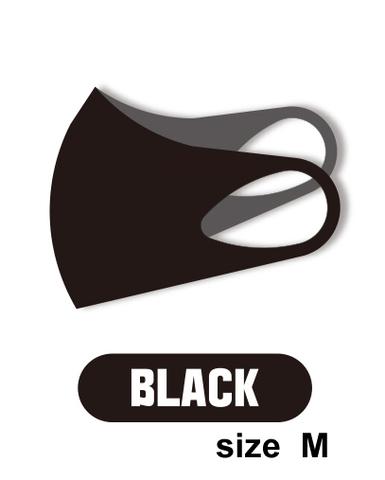 ASKIN MASK BLACK, маска-респиратор размер M- 1 шт в упаковке (черная)